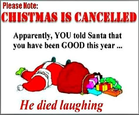 christmas jokes quotes christmas  cancelled  funny christmas joke christmas
