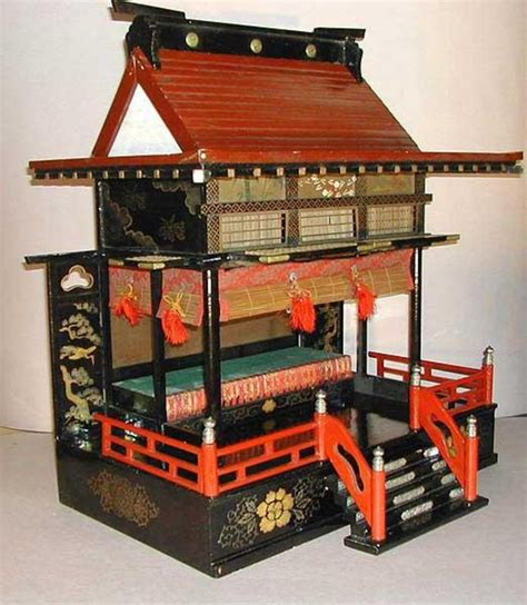 japanese doll house large antique japanese doll house goten asian room box pinterest