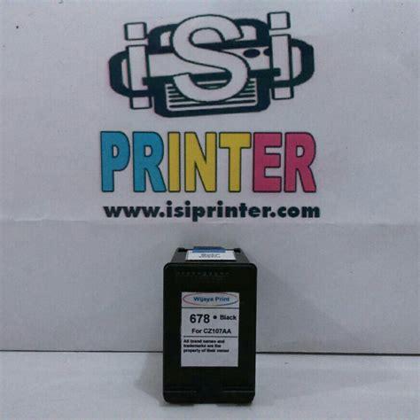 Cartridge Hp 678 Black hp 678 tinta black ink cartridge cz107aa isi printer