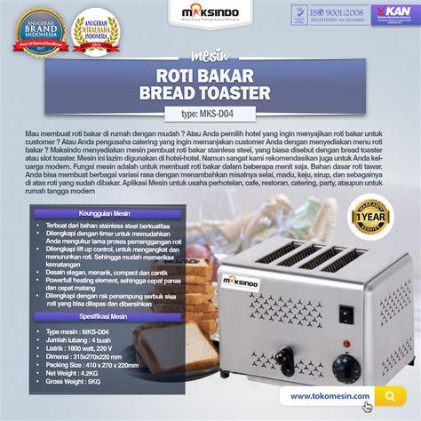 Toaster Roti Bakar jual mesin bread toaster roti bakar d04 di bandung