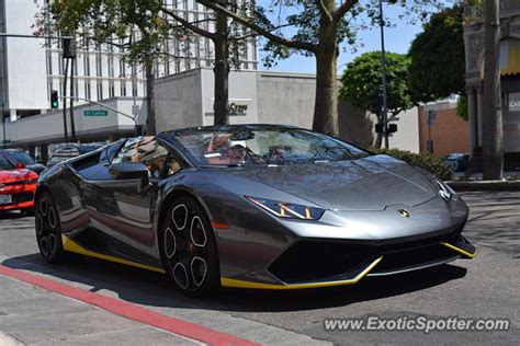 Beverly Lamborghini Lamborghini Huracan Spotted In Beverly California