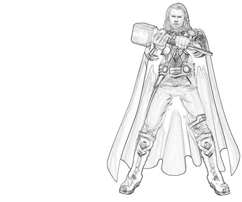 Coloring Pages Thor Thor Hammer Power Lowland Seed by Coloring Pages Thor