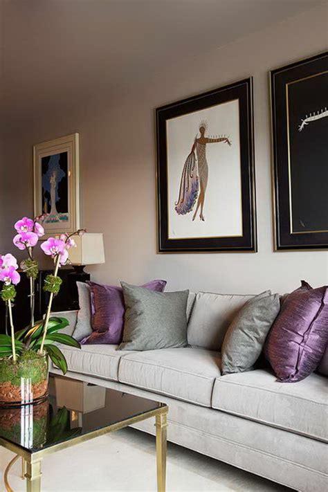 Violet Grey Interiors by 10 Interiors In Purple Color Home Interior Design