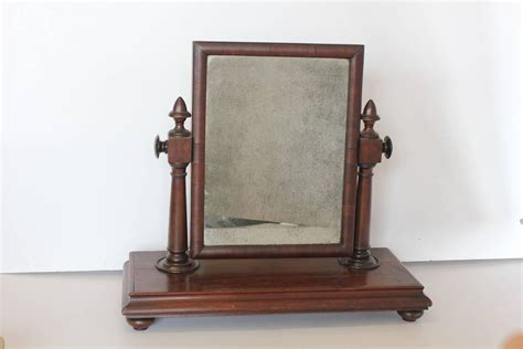 large antique gentleman vanity mirror for sale at 1stdibs
