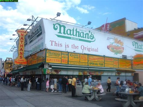 nathan s nathan s nothing better than coney island nyc food