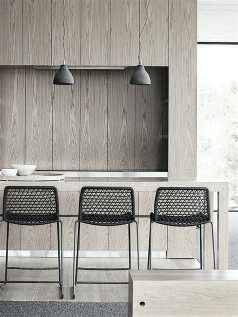 stylische esszimmerstühle moderne schwarze leder esszimmer st 252 hle m 246 belideen