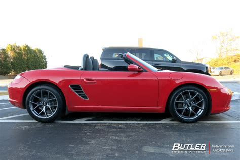 Porsche Boxster Felgen by Porsche Boxster With 18in Bbs Sr Wheels Exclusively From