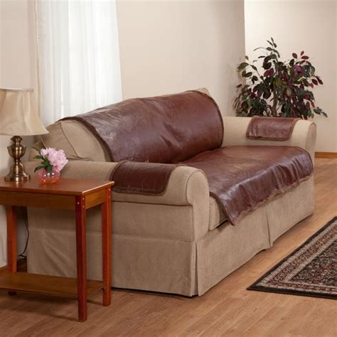 cover leather couch leather couch protector sofa