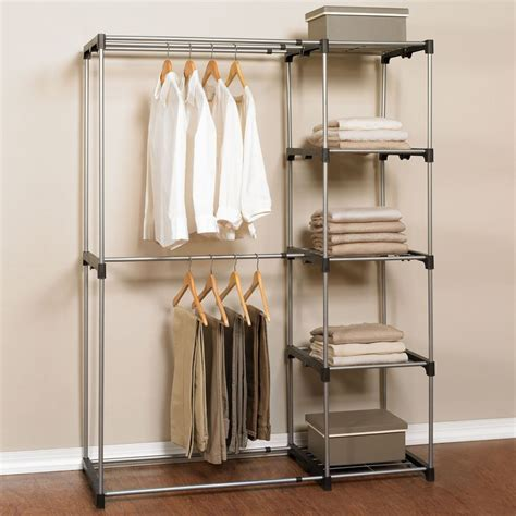How Much Are Clothing Racks by Our Garment Rack With Shelves Instantly Creates Much