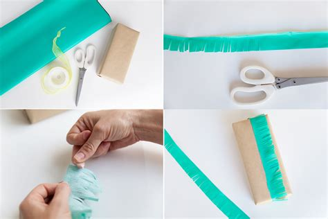 How To Make A Bow Out Of Tissue Paper - 3 ways to wrap with tissue paper tell and