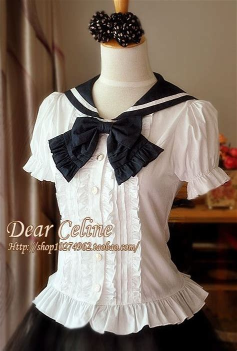 Olita Blouse dear sailor style blouse i would to own