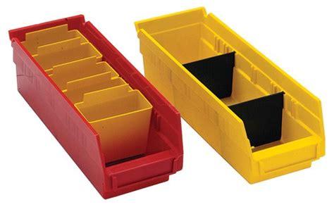 plastic shelf bin compartment divider dsb1 all sizes