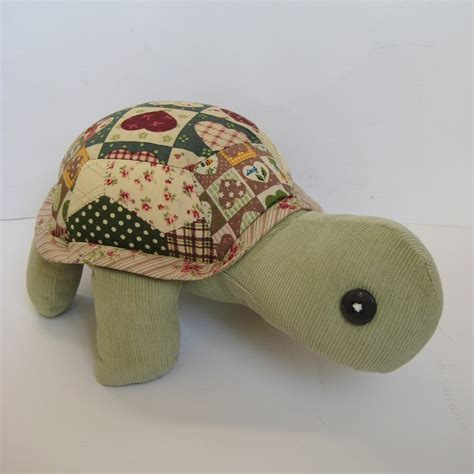 Patchwork Toys Free Patterns - patch the patchwork turtle sewing pattern pdf folksy