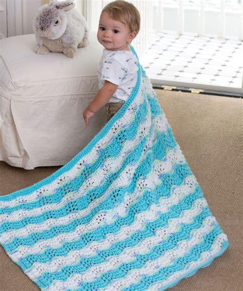 chevron baby blanket free crochet pattern from red heart baby boy chevron blanket knitting pattern red heart