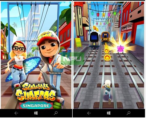 subway surfers mod game for windows phone subway surfers for windows 10 mobile arrives in the store