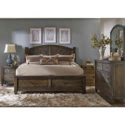 liberty furniture modern country poster bedroom set in