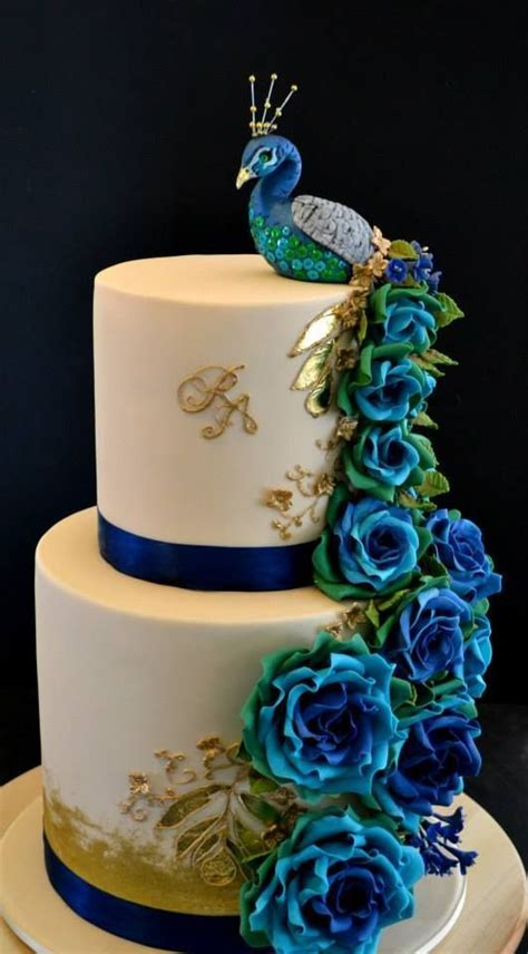 cake decorations theme 17 best ideas about peacock cake on peacock