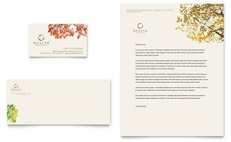 business letterhead requirements health insurance company business card letterhead
