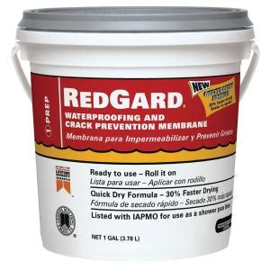 home depot waterproofing custom building products redgard 1 gal waterproofing and