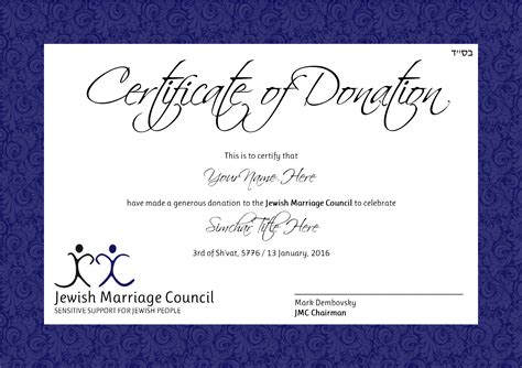 29 Images Of Charitable Donation Certificate Template Leseriail Com Donation Certificate Template