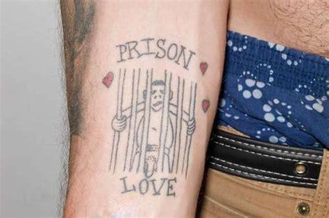 prisoner of love tattoo steve o s 23 tattoos their meanings guru
