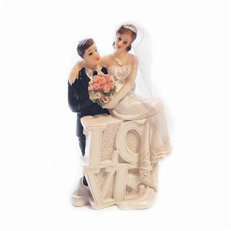 Tortenfigur Brautpaar by Tortenfigur Quot Brautpaar Quot 10 Cm G 252 Nstig Kaufen Bei Partydeko De
