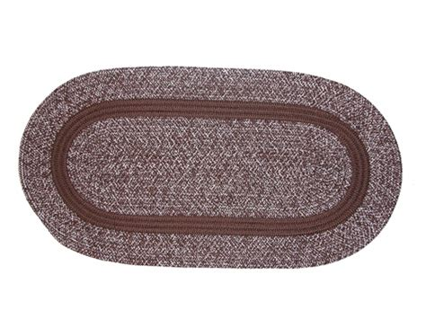 3 braided rug sets bristol 3 braided rug set in brown