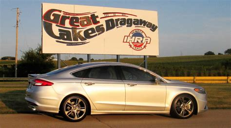 2017 Fusion Sport Specs by 2017 Ford Fusion Sport 1 4 Mile Drag Racing Timeslip Specs