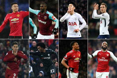 epl awards january 2018 carling goal of the month shortlist