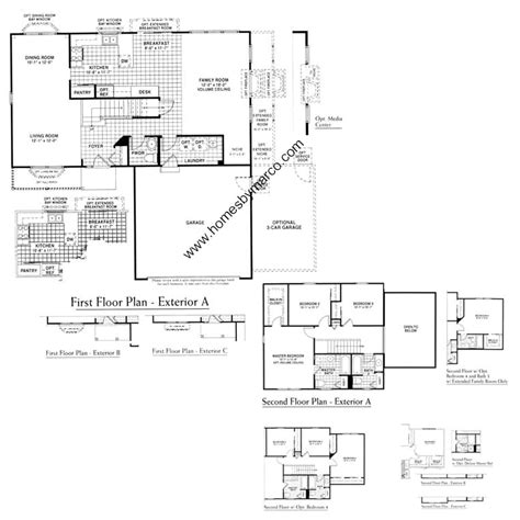homes by marco floor plans the lindens subdivision in aurora illinois homes for