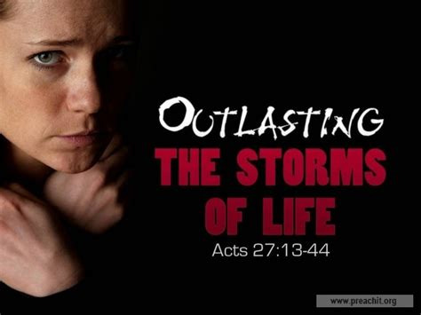 Acts 27 Sermon Outlines by Service Background For Church Services Outlasting The Storms Of Acts 27 13 44