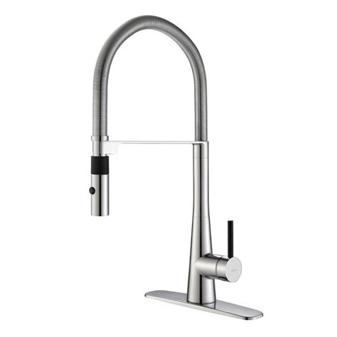 kraus kitchen faucets reviews faucet com kpf 2730ch in chrome by kraus