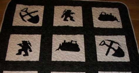 Coal Miner Quilt by S Krazy Krafts Coal Miners Quilt