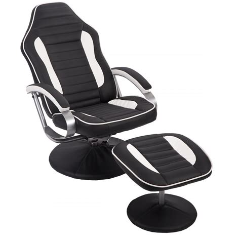 gaming chair with footrest new comfortable pu recliner chair relax racing chair