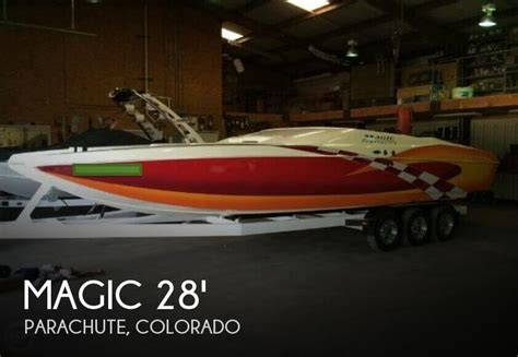 boat parachute for sale for sale used 2002 magic 28 ft power cat in parachute