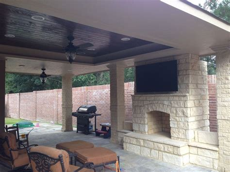 outdoor fireplace builders in houston fireplaces fireplaces pits backyard retreats