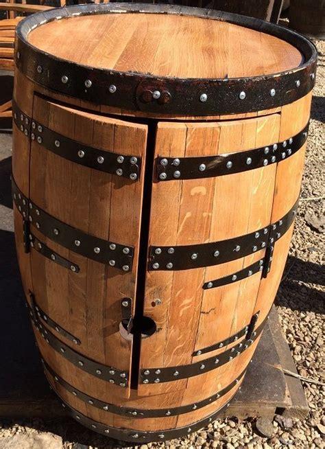 oak barrel drinks cabinet bar alfie crafted from