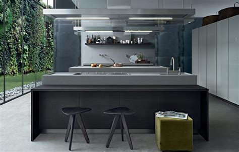 Building Kitchen Island minimal island kitchens from varenna poliform architonic
