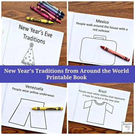 new year traditions printable 220 best new years activity for images on