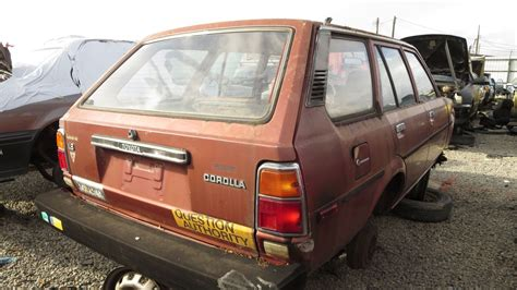 1980 Toyota Wagon 1980 Toyota Corolla Station Wagon Junkyard Find