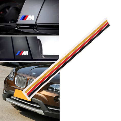 Bmw Sticker Grill by 3 Color Front Kidney Grill M Sport Sticker Decal Badge