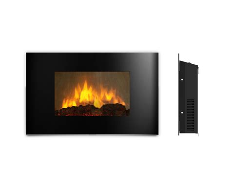 ambionair led wall mounted fireplace ef 1510 bgl