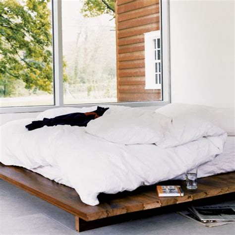 bed low to ground bedroom take a tour around a new york barn conversion