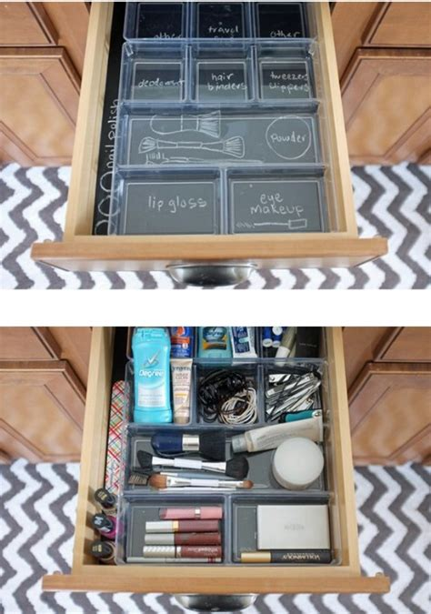 How To Organize A Dresser Drawer by 50 Genius Chalkboard Paint Projects That Will Beautify And