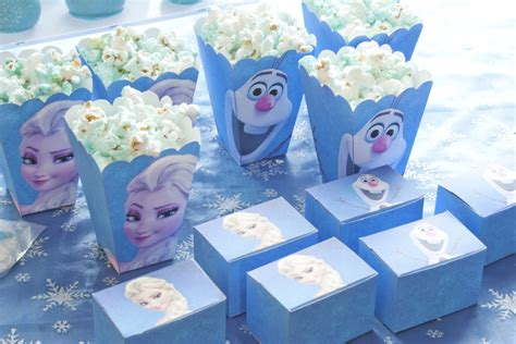 Frozen Party Giveaways - make frozen party favors party invitations ideas