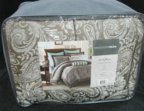 madison park aubrey jacquard comforter set madison park mp10 116 king aubrey jacquard paisley soft