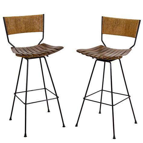 Umanoff Bar Stools by Pair Of Bar Stools By Arthur Umanoff At 1stdibs