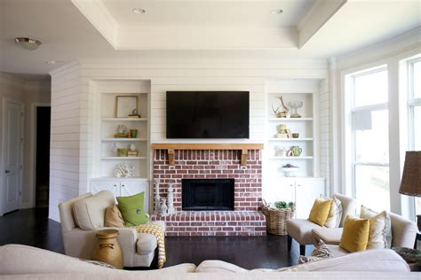 Shiplap Wall Living Room House Home Living Room Shiplap
