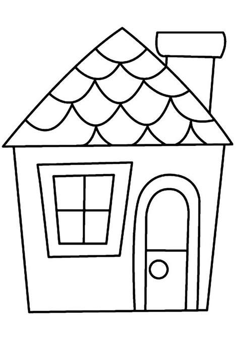 how to color a house coloriages divers maison 01 maisons pinterest maison