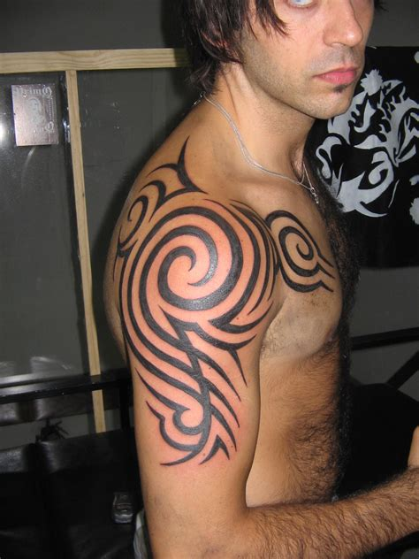 mens tattoos 187 tribal arm tattoos for men
